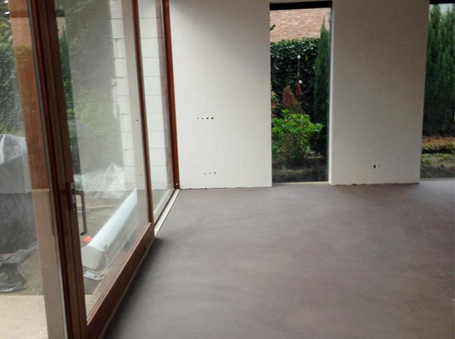 Betonlook: Venetiaans woonbeton Tilburg #woonbeton #berkersvloeren #gietvloeren #betonlook