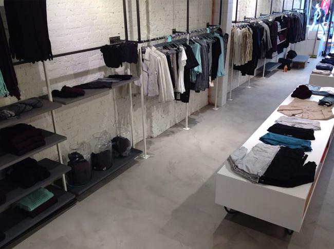 Woonbeton Esprit winkel #woonbeton #berkersvloeren #gietvloeren #betonlook